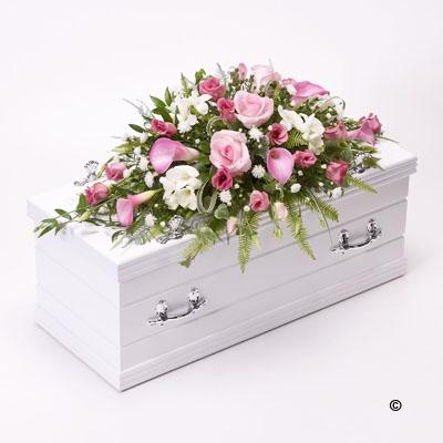 Children's Casket Spray   Pink