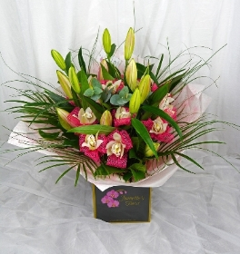 Luxury Lily and Orchid Bouquet