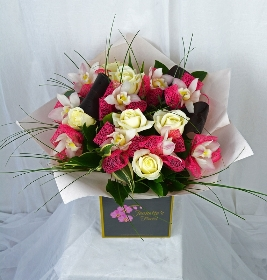 Luxury Rose and Orchid Bouquet